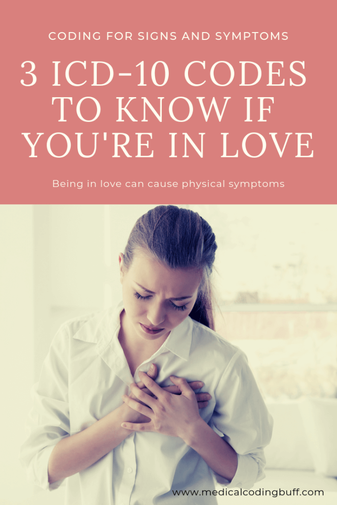 3 ICD-10-codes to know if you're in love