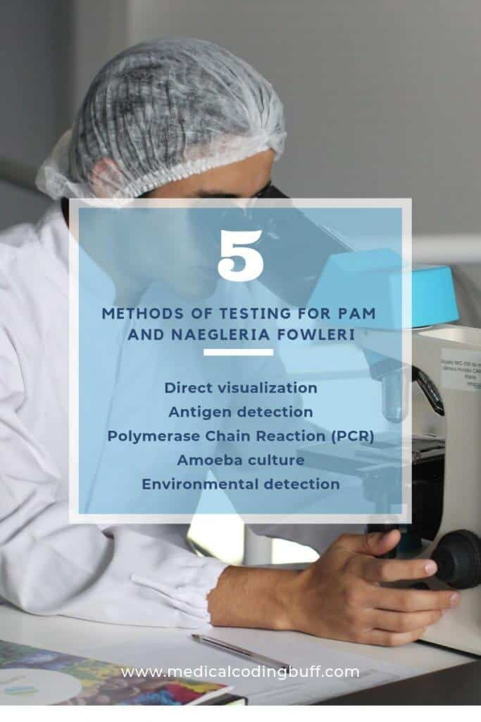 5 methods of testing for PAM and naegleria fowleri