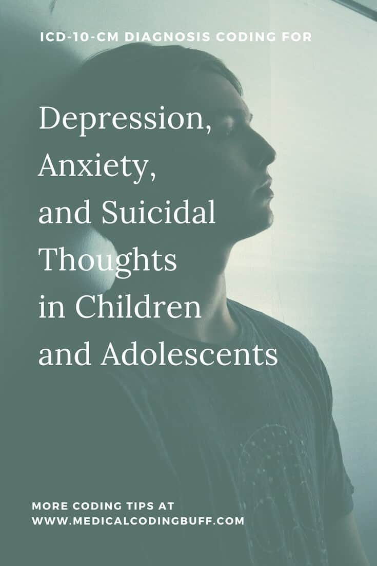 Depression With Anxiety and Thoughts of Suicide in ICD-10