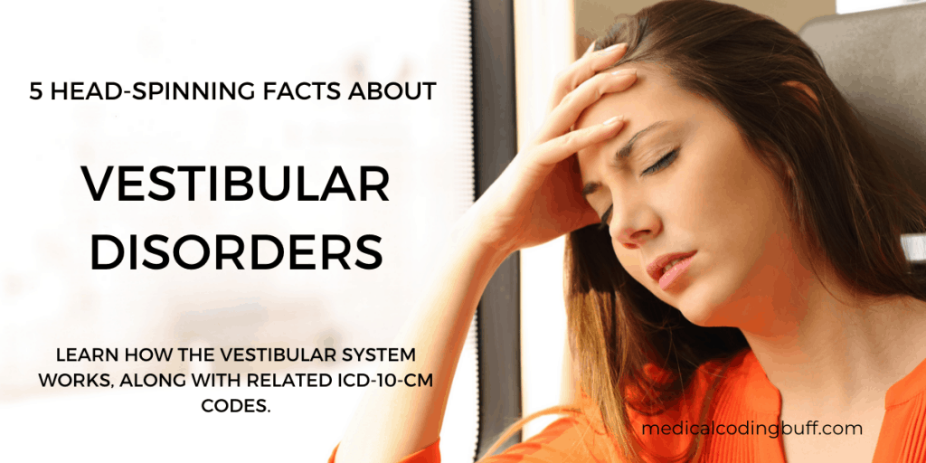 girl with symptoms of vestibular disorders and 5 head spinning facts