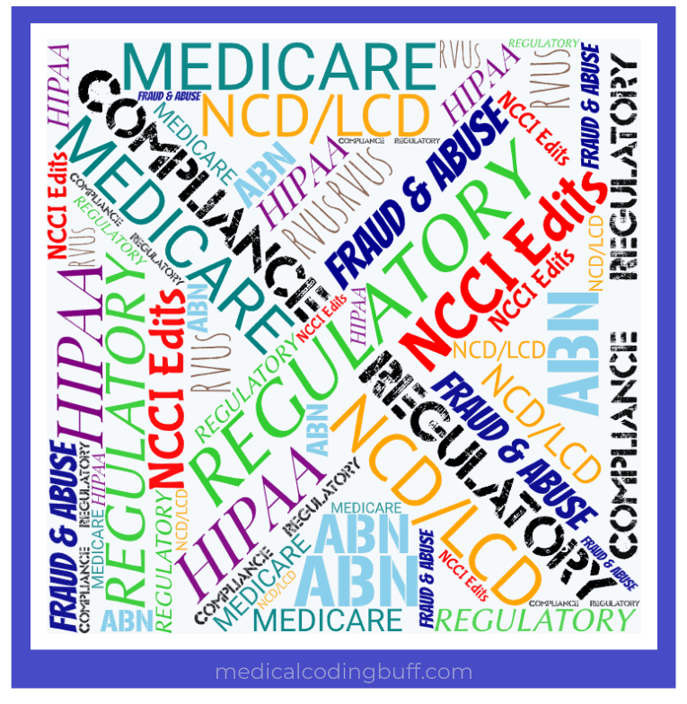 words related to medical coding business of medicine