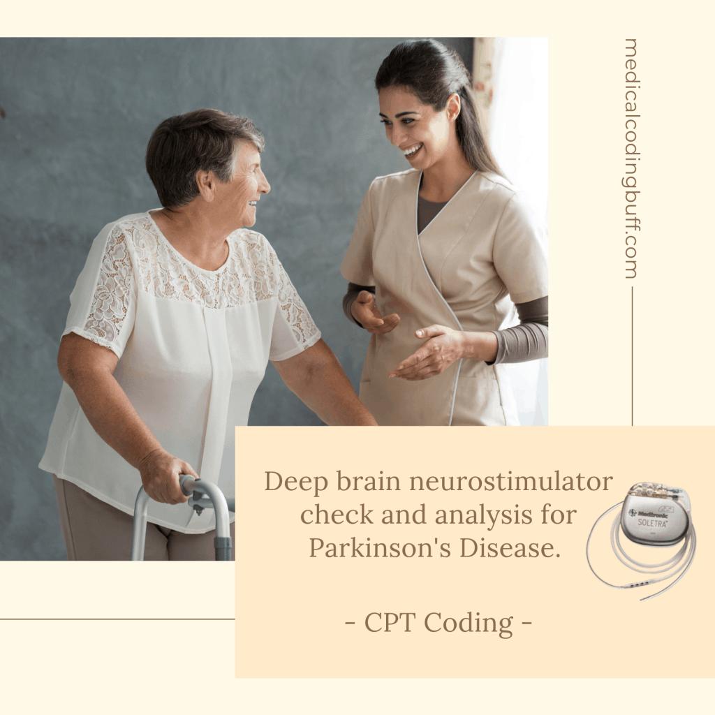 Parkinson's disease and deep brain neurostimulator coding in CPT