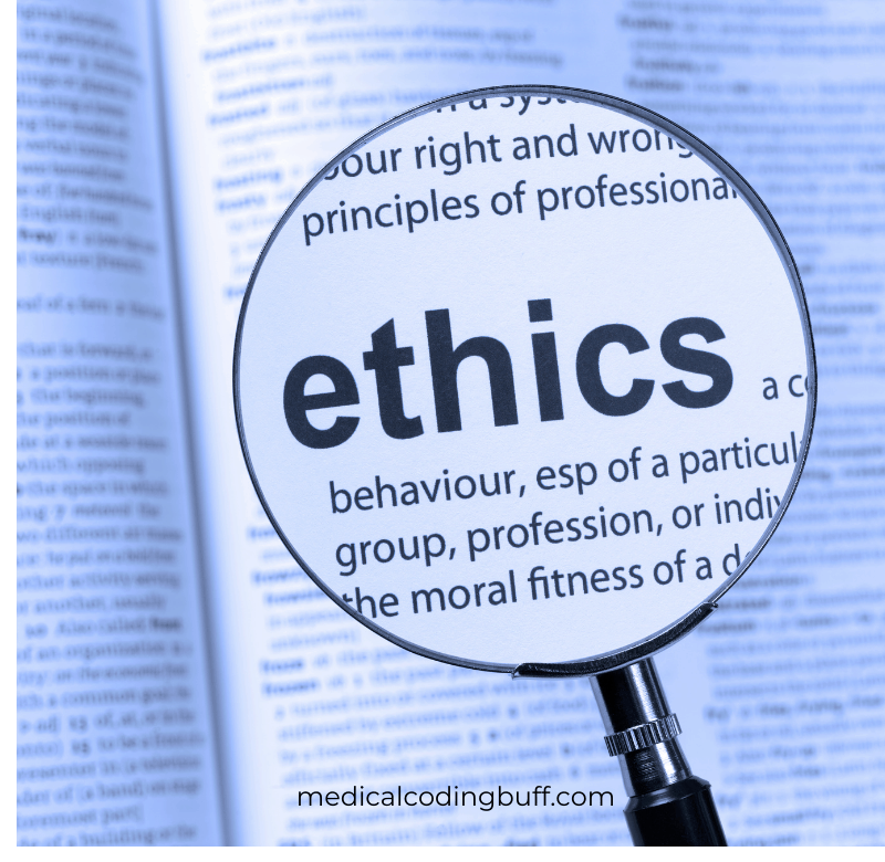 AAPC's code of ethics policy as it relates to medical coding business of medicine