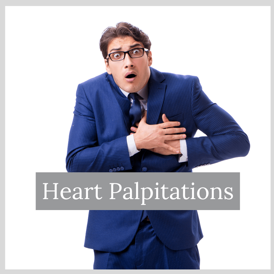 man with heart palpitations and how to code for it in ICD-10-CM