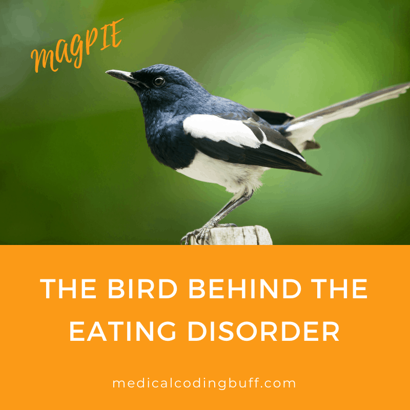 A person getting ready to eat dirt or other non-food items may have an eating disorder called pica.