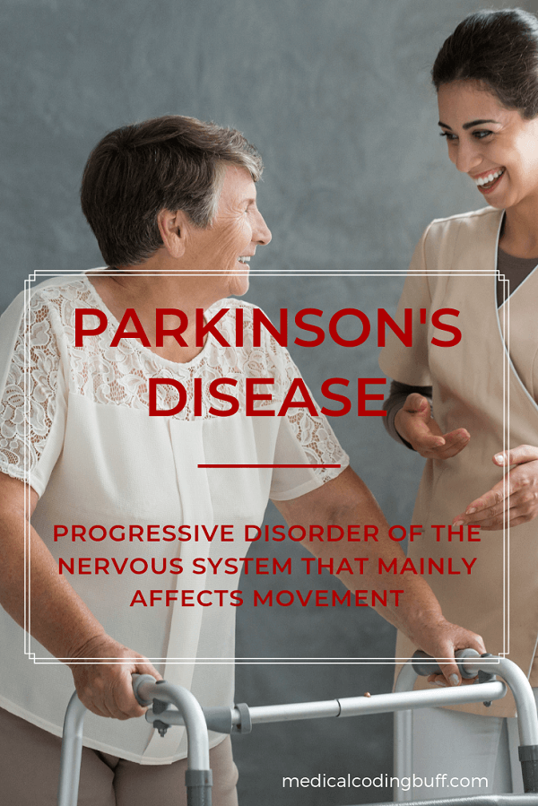 Parkinson's disease is a progressive disorder of the nervous system that mainly affects movement