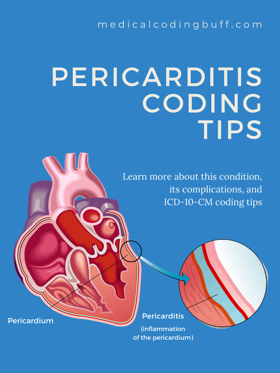 Pericardium and pericarditis and coding tips in ICD-10-CM