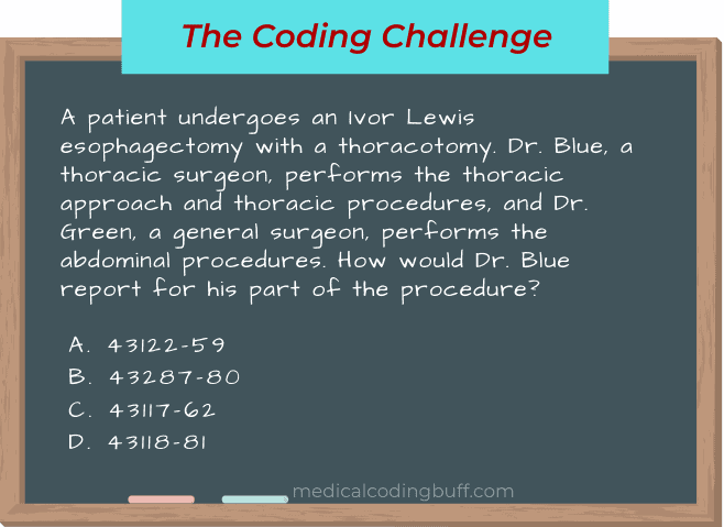Ivor Lewis Esophagectomy and Two Surgeons