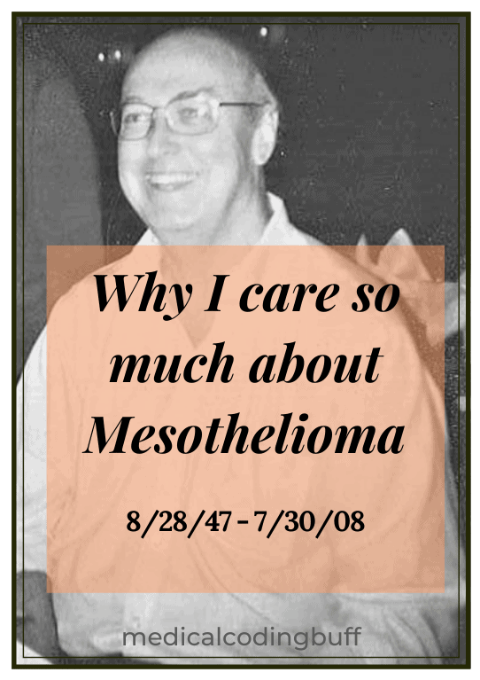 my loving brother who died from mesothelioma